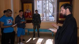 Провідна неділя пройшла в Храмі Кременчуцької виховної колонії