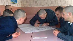 Для вихованців Кременчуцької виховної колонії організували Брейн-ринг