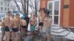 Вихованці Кременчуцької виховної колонії відзначили свято Водохрещення та облилися Йорданською водою