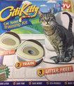 Набор для приучения кошки к унитазу / Туалет для Кота CitiKitty (Сити Кити)