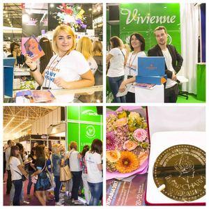 Vivienne на выставке «InterCHARM 2017»: собираем награды и делимся достижениями