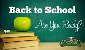Back to School: День встречи выпускников в GOGOL PUB