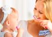 Как чистить первые зубки?