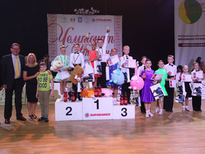 Известны результаты Чемпионата Украины по спортивным танцам
