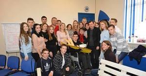 Черкаський державний бізнес-коледж збирає благодійні кошти для допомоги своєму випускнику