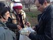 Черкаські волонтери доставили гуманітарку жителям прифронтової Красногорівки