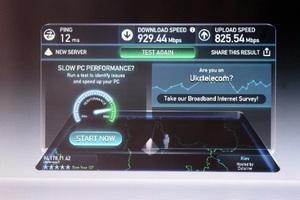 Швидкість доступу до інтернету на новій мережі Укртелекому в Дніпрі збільшилася в півтора рази