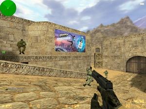 """Энергетический напиток  """"Gladiator """" можно встретить в Counter-Strike."""